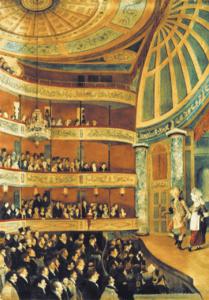 the interior of the Park Theatre