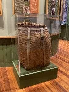 Jim Goodwin pack basket courtesy Adirondack History Museum