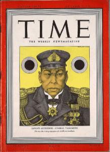 Admiral Yamamoto cover Time magazine