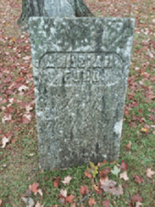Amasiah Ford grave