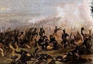 Battle of Lundys Lane by Alonzo Chappel