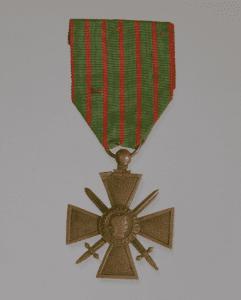 Croix de Guerre medal