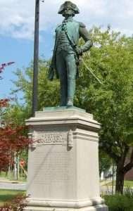 Gen. Gansevoort statue