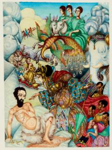 Illustration for Gustave Flauberts La tentation de Saint-Antoine
