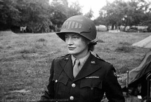 Lee Miller in Normandy
