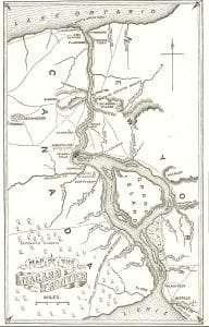 Niagara River and Territory, 1812