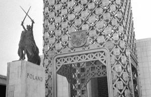 Polish Pavilion at the New York Worlds Fair