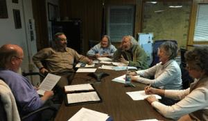 SRLP Board meeting preparing for its 2017 season