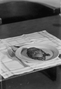 Still Life with Severed Breast