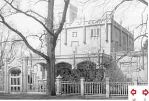Manice Mansion from Hemstead Turnpike
