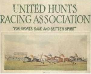 United Hunts Rac program cover 1926