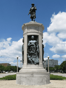 Victory Monument or World War I Black Soldiers' Memorial