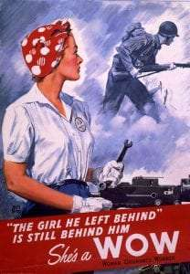 Woman Ordinance Worker WWII Home Front