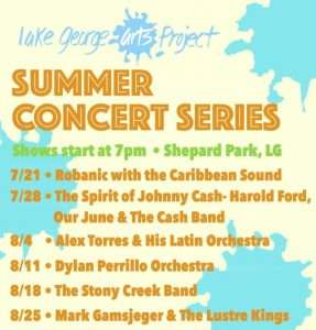Lake George Arts Project's Summer Concert Series