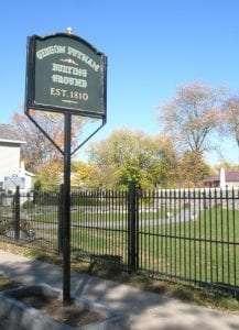 Gideon Putnam Cemetery courtesy Saratoga Springs Preservation Foundation