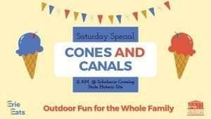Erie Eats: Cones and Canals
