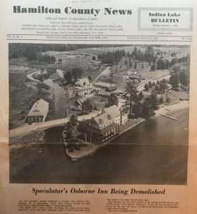 Hamilton County News Osborne House Demolition
