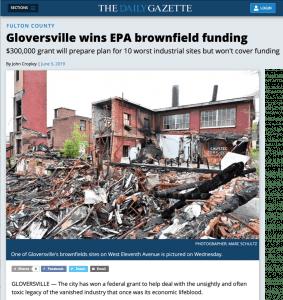 Gloversville Brownfields