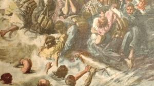 Achille Beltrames image of the sinking of the SS Rowan