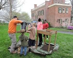 archaeology program at the Ten Broeck Mansion, courtesy Hartgen Archaeological Associates