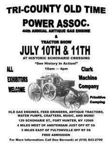 Engine Show Flyer