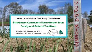 littleGrasse Community Farm Garden Tour