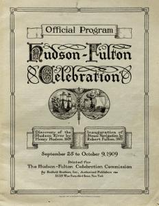 Hudson-Fulton Celebration official program