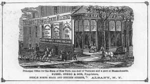 Scene from Russel Crego & Son broadside (c.1875), courtesy of the New York State Library