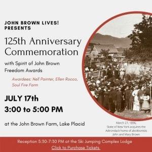 John Brown Lives 125th Anniversary Commemoration