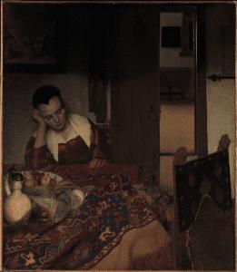 Maid Asleep