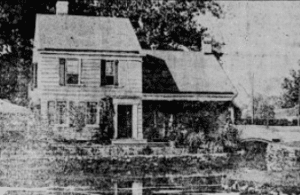Paines cottage at New Rochelle