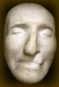 Paines death mask