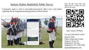 Sackets Harbor survey