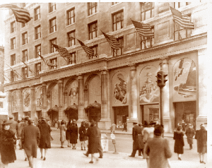 front of Benjamin Altmans Department Store