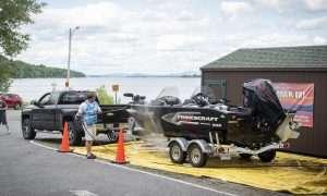 Adirondack Boat Wash (provided by Adirondack Watershed Institute)