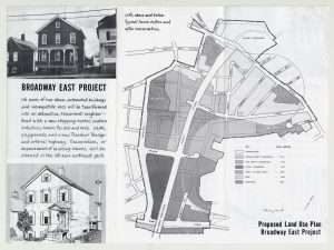 Broadway East Project proposed Land Use Plan