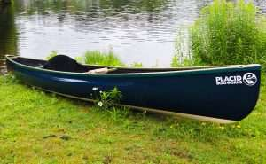 Placid Boatworks Oseetah Ulstralight solo canoe