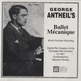 Cover of the recording of George Antheils Ballet mécanique