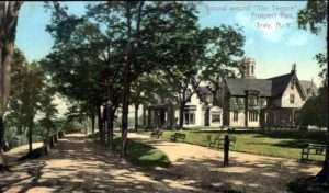 Former Warren House in Prospect Park, Troy NY later known as Memorial House