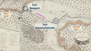 Fort Stanwix Map 1777