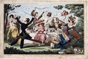 George-Cruikshanks-Pic-Nic-disturbed-by-a-Swarm-of-Bees-1826
