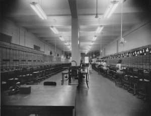telephone operators at the Monticello Telephone Company