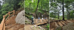 Ninham Trail courtesy State Parks