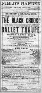 Program from original production