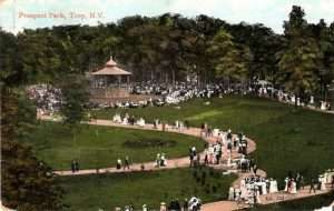 Prospect Park, Troy NY in the early 20th century