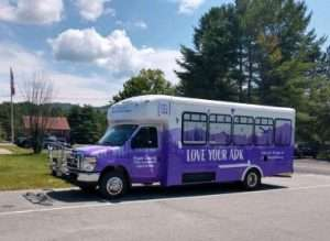 new hiker shuttle courtesy Essex County
