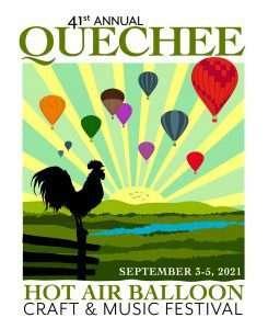 quechee hot air ballon festival