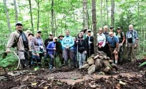 7. Portrait of Hiking Group taken at the Tweedy Corner--Bob Meyer Photos--September 3, 2021