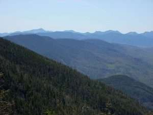 Adirondack Mountains from the top of Whiteface Mountain courtesy Wikimedia R khot