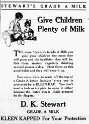 Early Stewarts Advertisement